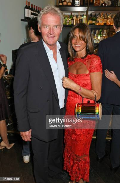 Count Leopold von Bismarck and Countess Debonaire von Bismarck attend a private dinner hosted by Edward Enninful in honour of Giambattista Valli to...