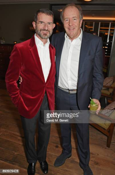Count Manfredi della Gherardesca and Lord Bruce Dundas attend Alexander Dundas's 18th birthday party hosted by Lord and Lady Dundas on December 16...