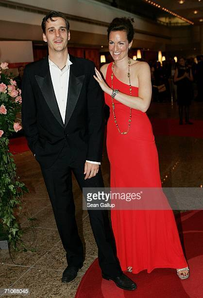 Count Max von Thun and Countess Gioia von Thun attend the Rosenball Charity Ball at the Intercontinental Hotel May 27, 2006 in Berlin, Germany.