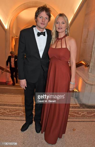 Count Nikolai von Bismarck and Kate Moss attend The Portrait Gala 2019 hosted by Dr Nicholas Cullinan and Edward Enninful to raise funds for the...