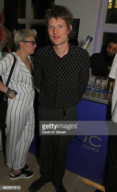 Count Nikolai von Bismarck attends adidas 'Prouder' A Fat Tony Project in aid of the Albert Kennedy Trust supporting LGBT youth at Heni Gallery Soho...
