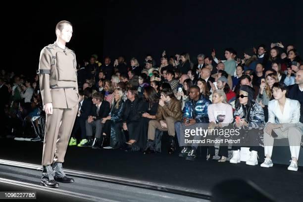 Count Nikolai von Bismarck Model Kate Moss CEO of Dior Pietro Beccari his wife Elisabetta Beccari Robert Pattinson Skepta two guests and Arthur Chen...