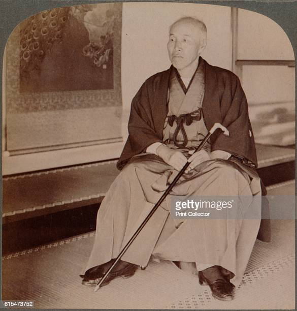 Count Okuma ExMinister of Foreign Affairs at home Tokyo Japan' 1904 From The Underwood Travel Library Japan [Underwood Underwood London New York...