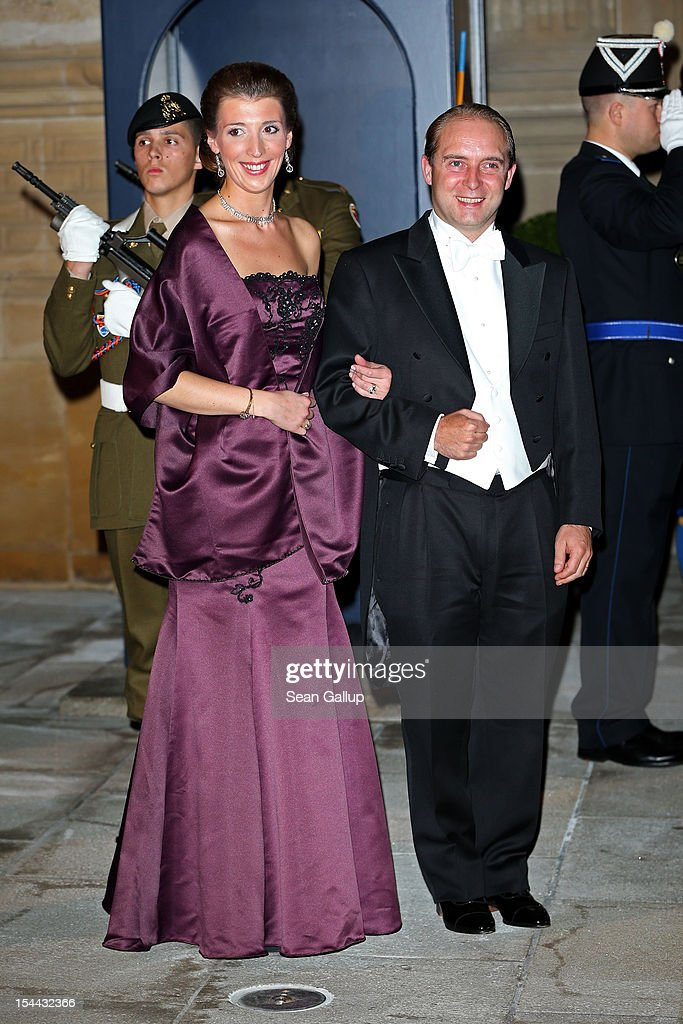 The Wedding Of Prince Guillaume Of Luxembourg & Stephanie de Lannoy - Gala Dinner : Nieuwsfoto's