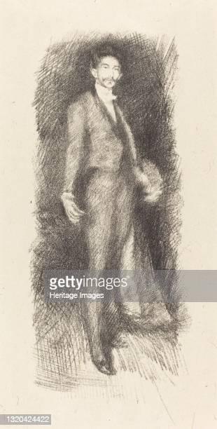 Count Robert de Montesquiou, No. 2, 1894. Artist James Abbott McNeill Whistler.