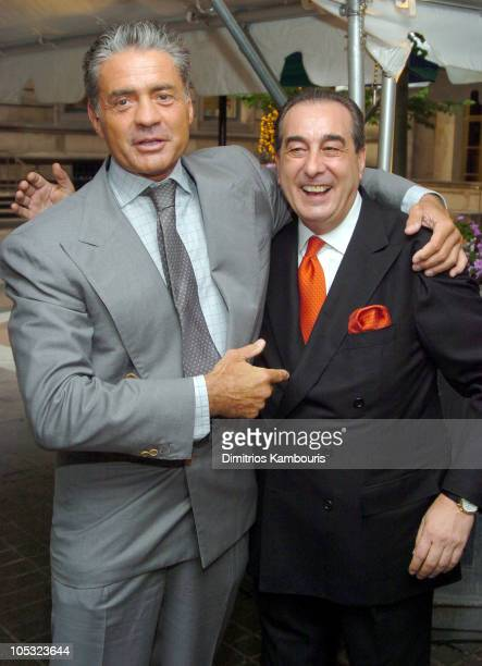 Count Roffredo Gaetani and Benito Sevarin during Sirio Maccioni The Story of My Life and Le Cirque Book Party at Le Cirque 2000 in New York City New...