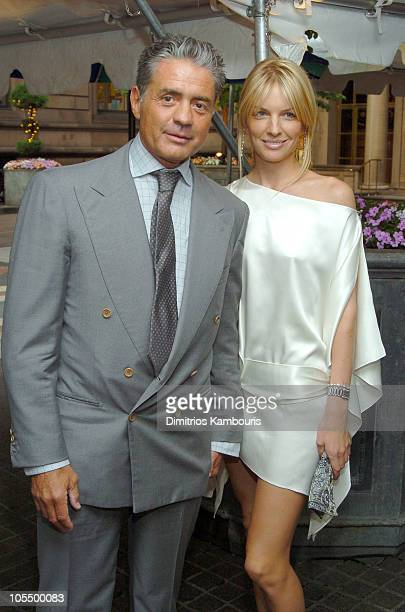 Count Roffredo Gaetani and guest during Sirio Maccioni The Story of My Life and Le Cirque Book Party at Le Cirque 2000 in New York City New York...