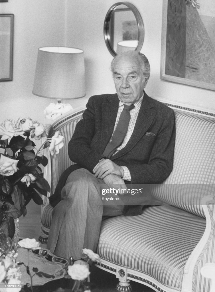 Count Sigvard Bernadotte of Wisborg : News Photo