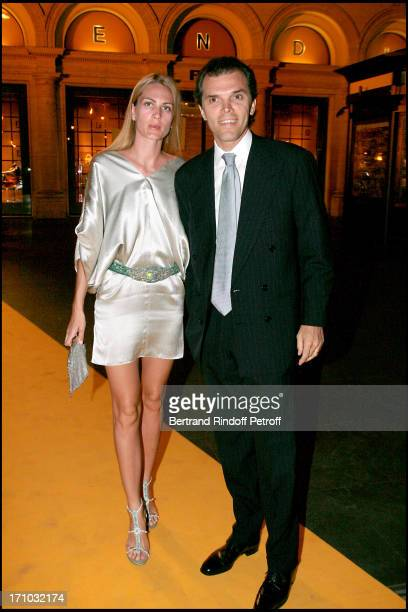 Count Ugo Brachetti Peretti and Princess Isabella Borromeo Dinner at the Fendi Palazzo in Rome for the launch of the new perfume Palazzo