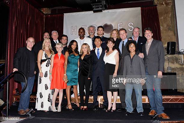 HEROES Countdown to the Premiere September 7 2008 from The Edison Lounge in Los Angeles CA Pictured Greg Beeman CoExecutive Producer Malcom McDowell...