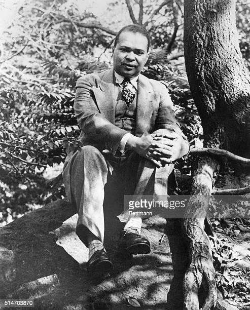 Countee Cullen Negro poet whose volume of poems 'Color' appeared in 1925 Undated photograph