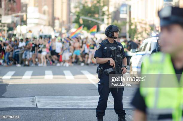 Counter Terrorism Police Gay Pride Parade New York City