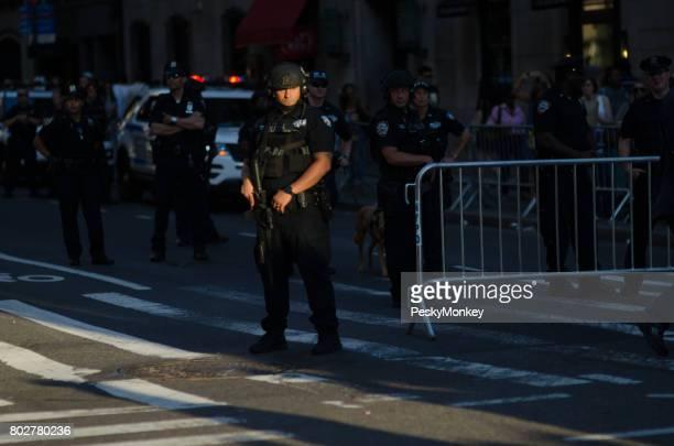 カウンター テロリズム警察ゲイプライド パレード ニューヨーク市