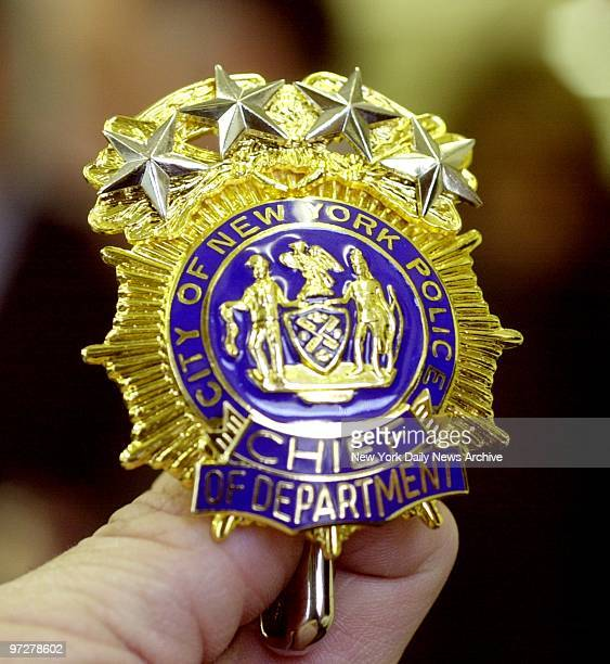 Counterfeit badge is one of 6800 seized by police in the Yonkers home of an actor who had bit roles as a cop on the TV show Law and Order Ellioit...