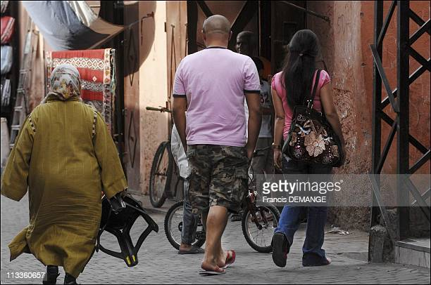 CounterInquiry On Prostitution Marrakech The New Queen Of Vice In Marrakech Morocco In May 2007 Daily life in the Medina near JemaaelFna square and...