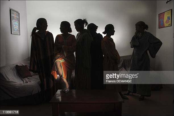 CounterInquiry On Prostitution Marrakech The New Queen Of Vice In Marrakech Morocco In May 2007 Left to right Armah Loubena Somiai Kamar Cheima and...