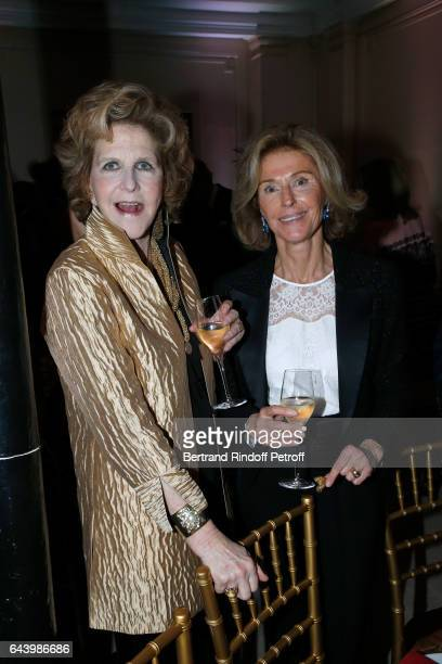 Countess AnneMarie de Ganay and Marquise de Nicolay attend the celebration of the 10th Anniversary of the 'Fondation Prince Albert II De Monaco' at...