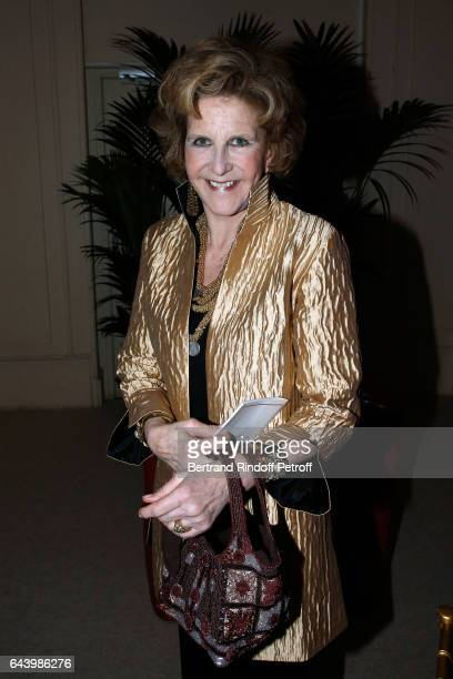 Countess AnneMarie de Ganay attends the celebration of the 10th Anniversary of the 'Fondation Prince Albert II De Monaco' at Salle Gaveau on February...