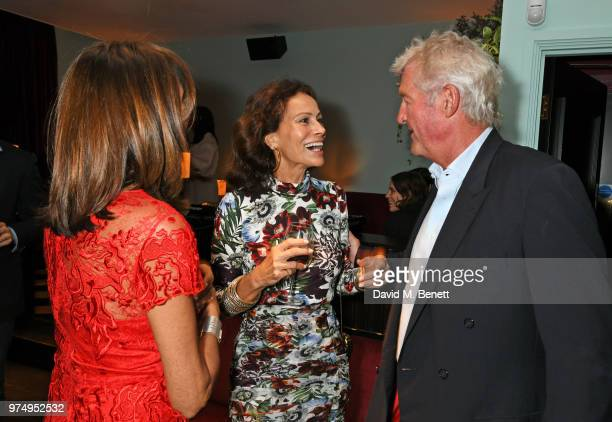 Countess Debonaire von Bismarck Andrea Dellal and Count Leopold von Bismarck attend a private dinner hosted by Edward Enninful in honour of...