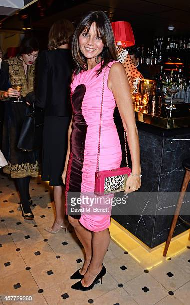 Countess Debonaire von Bismarck attends the Charlotte Olympia 'Handbags for the Leading Lady' launch dinner at Toto's Restaurant on October 23 2014...