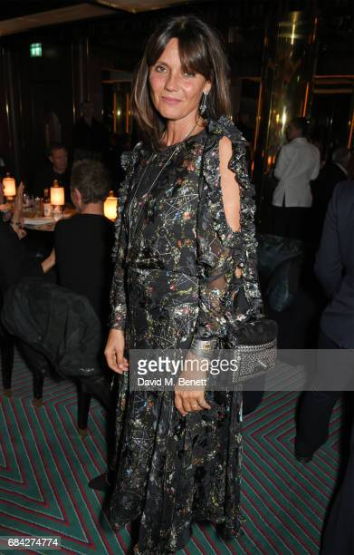 Countess Debonnaire Von Bismarck attends a private dinner celebrating the launch of the KATE MOSS X ARA VARTANIAN collection at Isabel on May 17 2017...