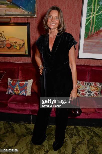Countess Debonnaire von Bismarck attends as Edward Enninful David Beckham and British Vogue celebrate the 10th anniversary of Victoria Beckham at...