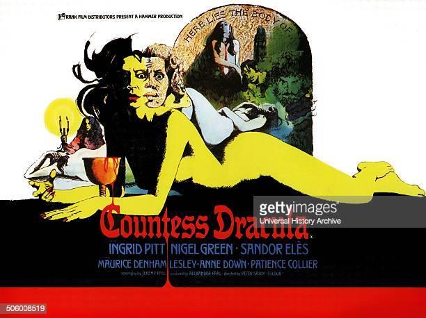 Countess Dracula a 1971 Hammer horror film starring Ingrid Pitt