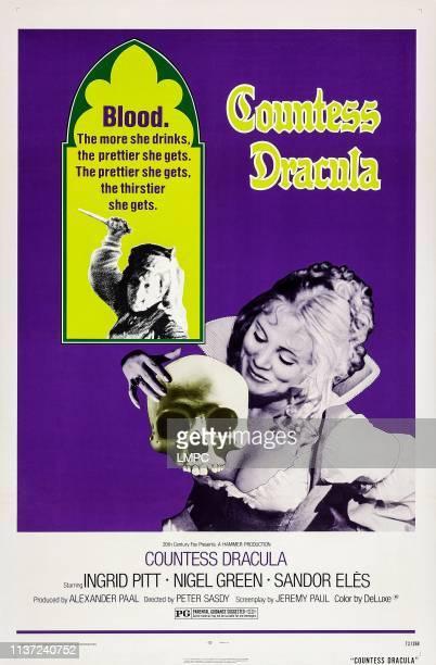 Countess Dracula poster US poster Ingrid Pitt 1971
