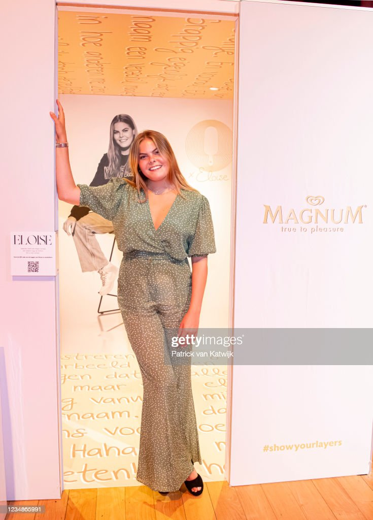 """Eloise Van Oranje Opens A Pop-up Exhibition """"Layered"""" By Magnum In Amsterdam : News Photo"""