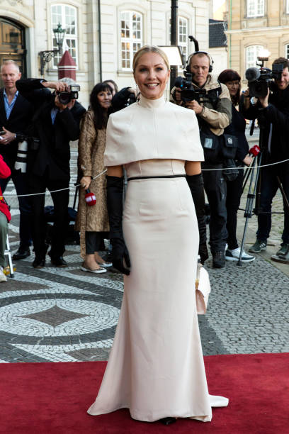 DNK: Queen Margrethe Of Denmark Hosts Dinner 50th Birthday Party For Prince Joachim