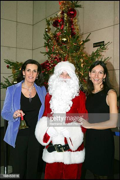 Countess Francois De La Beraudiere and Princess Ariane Poniatowski at The Arop Christmas Production Of 'Reve D'Enfants' And ' 'La Belle Au Bois...