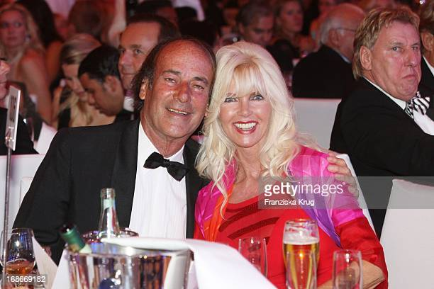Countess Gunilla von Bismarck and Luiz Ortiz at The UNESCO Charity Gala at the Maritim Hotel in Dusseldorf