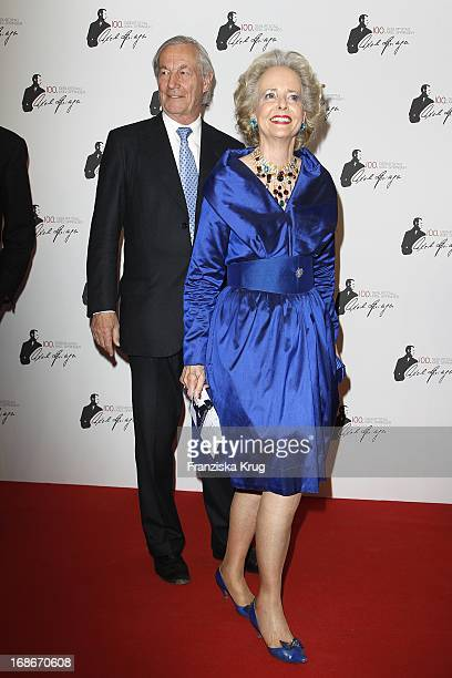 Countess Isa of Hardenberg And Alexander Graf Von Hardenberg at 100th Birthday of Axel Springer in Berlin