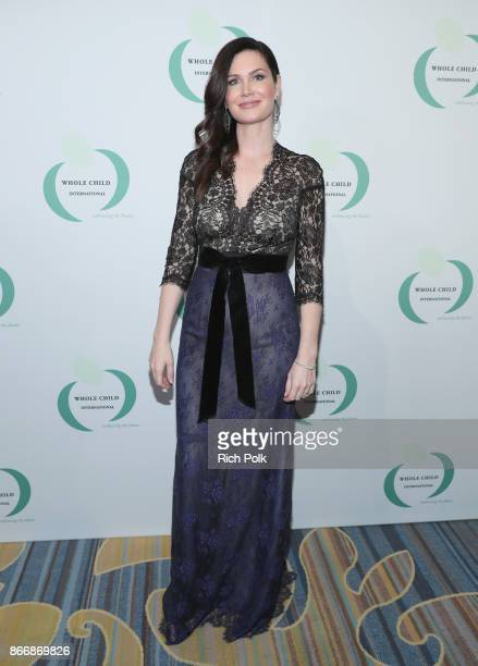 Countess Karen Spencer at the Whole Child International's Inaugural Gala in Los Angeles hosted by The Earl and Countess Spencer at Regent Beverly...