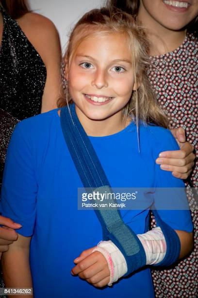 Countess Leonore granddaughter of Princess Beatrix attends the dance event Free to Move at the Zuiderstrandtheater on August 31 2017 in The Hague...
