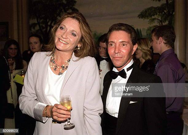 Countess Lichfield And Harold King At A Gala Dinner In Aid Of The City Ballet Of London
