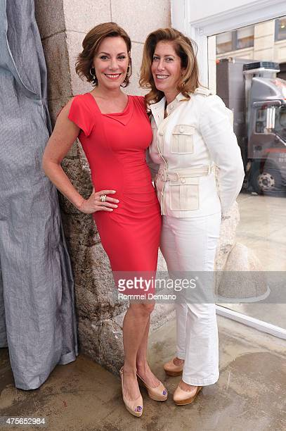 Countess Luann de Lesseps and Carla Ruben attend Big Brothers Big Sisters Of NYC Summer Cooking Class at Creative Edge Parties on June 2 2015 in New...