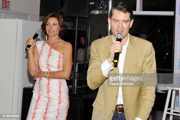 Countess LuAnn de Lesseps and George McNeely attend MIRACLE HOUSE 20th Anniversary Memorial Day Summer Kickoff Benefit honoring Amy Chanos and Jim...