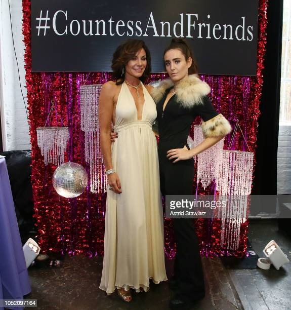 Countess Luann de Lesseps and her daughter Victoria de Lesseps attend Drag Brunch hosted By Countess Luann de Lesseps at Industria on October 13 2018...