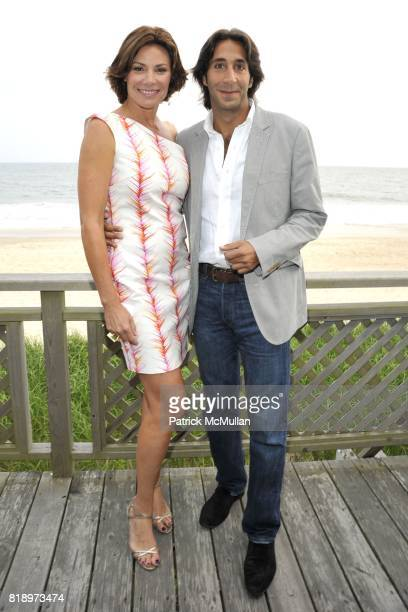 Countess LuAnn de Lesseps and Jacques Azoulay attend MIRACLE HOUSE 20th Anniversary Memorial Day Summer Kickoff Benefit honoring Amy Chanos and Jim...