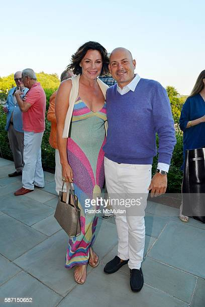 Countess Luann de Lesseps and Thomas D'Agostino attend Tom Diane Tuft and Christina Cuomo Celebrate the Launch of Jay McInerney's New Novel Bright...