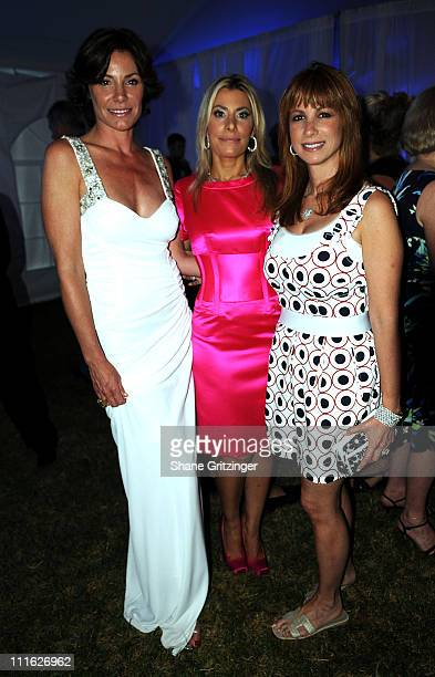 Countess LuAnn de Lesseps of Bravos ' Real Housewives of New York City' Long Island News 12 Entertainment Reporter Gina Glickman and Jill Zarin of...