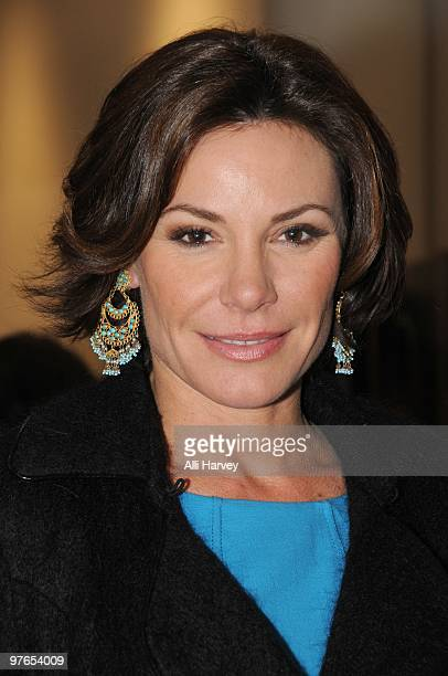 Countess LuAnn de Lesseps of 'The Real Housewives of New York City' attends the opening of Lies Maculan's popup art installation 'The Dream Shop' on...