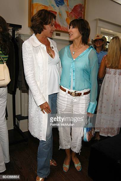 Countess LuAnn deLesseps and Sale Johnson attend DOLCE GABBANA Benefit Luncheon hosted by Jessica Seinfeld Claude Wasserstein and Stephanie Winston...