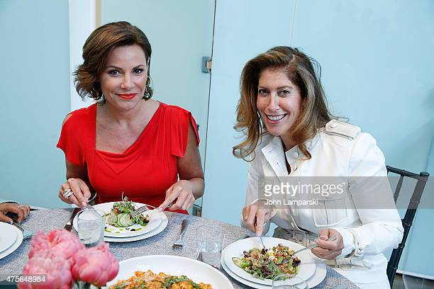 Countess Luannde Lesseps and Creative Concepts CEO and owner Carla Ruben attend Big Brothers Big Sisters Of NYC summer cooking class at Creative Edge...