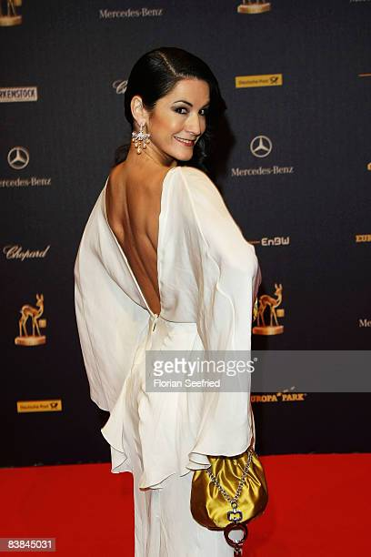 Countess Mariella von Faber Castell arrives at the Bambi Awards 2008 on November 27 2008 in Offenburg Germany