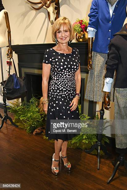 Countess Maya Von Schoenburg attends the launch of Stella Tennant and Isabella Cawdor's collection for Holland Holland at their Bruton Street store...