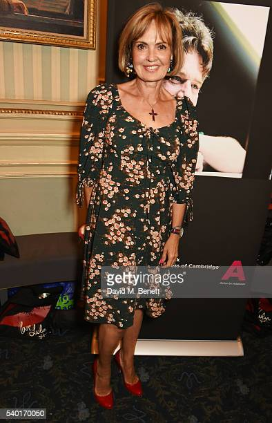 Countess Maya Von Schoenburg attends the People Places Things Charity Gala in aid of Action On Addiction at Wyndhams Theatre on June 14 2016 in...