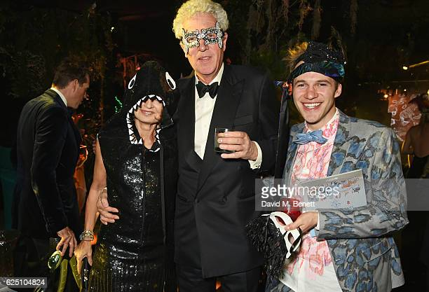 Countess Maya von Schoenburg Henry Wyndham and Garrett Moore attend The Animal Ball 2016 presented by Elephant Family at Victoria House on November...