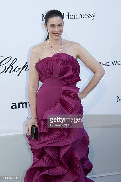Countess Nathalie Von Bismarck attends amfAR's Cinema Against AIDS Gala during the 64th Annual Cannes Film Festival at Hotel Du Cap on May 19 2011 in...